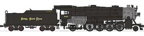 Broadway USRA Heavy Mikado 2-8-2 Nickel Plate Road HO Scale Model Train Steam Locomotive #2159