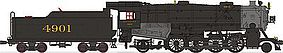 Broadway USRA Heavy Mikado 2-8-2 DCC Southern #4887 HO Scale Model Train Steam Locomotive #2161