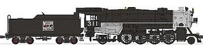 Broadway USRA Heavy 2-8-2 Mikado DCC Western Pacific #311 HO Scale Model Train Steam Locomotive #2162