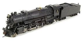 Broadway USRA Heavy Mikado 2-8-2 DCC Unlettered HO Scale Model Train Steam Locomotive #2164