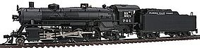 Broadway USRA Light 2-8-2 Mikado Florida East Coast #701 HO Scale Model Train Steam Locomotive #2167