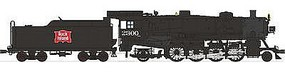 Broadway USRA Light Mikado 2-8-2 DCC Rock Island #2309 HO Scale Model Train Steam Locomotive #2179