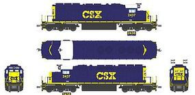 Broadway EMD SD40-2 CSX 2437 With Sound HO Scale Model Train Diesel Locomotive #2277