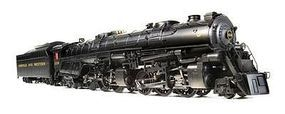 Broadway Class A 2-6-6-4 DCC Painted, Unlettered (black) HO Scale Model Train Steam Locomotive #2304