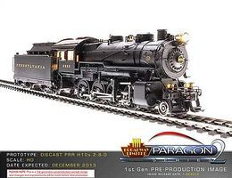 Broadway PRR H10s 2-8-0 Pennsylvania Railroad #8304 HO Scale Model Train Steam Locomotive #2321