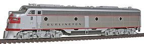 Broadway EMD E8A Chicago, Burlington & Quincy HO Scale Model Train Diesel Locomotive #2355