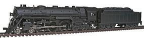 Broadway NYC Hudson 4-6-4 Undecorated with Sound HO Scale Model Train Steam Locomotive #2590
