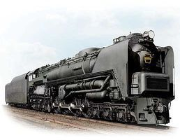 Broadway PRR Class S2 6-8-6 Turbine Large Smoke Deflector HO Scale Mode Train Steam Locomotive #2696