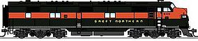 Broadway EMD E7A w/Sound & DCC Great Northern #504 HO Scale Mode Train Diesel Locomotive #2729