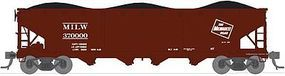 Broadway ARA/AAR 70-Ton 4-Bay Hopper Milwaukee Road Set C HO Scale Model Train Freight Car #2773