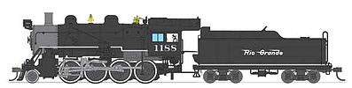 Broadway Limited Imports Baldwin 2-8-0 Consolidation Denver & RGW -- HO Scale Model Train Steam Locomotive -- #2789