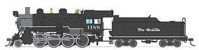 Broadway Baldwin 2-8-0 Consolidation Denver & RGW HO Scale Model Train Steam Locomotive #2789