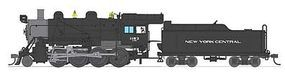 Broadway Baldwin 2-8-0 Consolidation New York Central #1199 HO Scale Model Train Steam Locomotive #2797