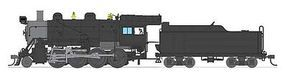 Broadway Baldwin 2-8-0 Consolidation Painted, Unlettered HO Scale Model Train Steam Locomotive #2803