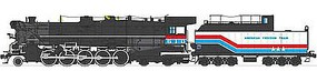 Broadway T&P 2-10-4 DCC Hybrid American Freedom Train HO Scale Model Train Steam Locomotive #2830
