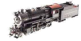 Broadway H10s 2-8-0 w/90F82 Lines East Tender Pennsylvania HO Scale Model Train Steam Locomotive #2838