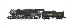 Broadway USRA Heavy 2-8-2 Mikado Chesapeake & Ohio #1181 HO Scale Model Train Steam Locomotive #2880