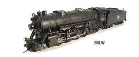 Broadway USRA Heavy 2-8-2 Mikado Milwaukee Road #8635 HO Scale Model Train Steam Locomotive #2886