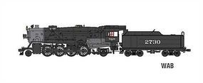 Broadway USRA Heavy 2-8-2 Mikado Wabash #2732 HO Scale Model Train Steam Locomotive #2894