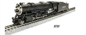 Broadway USRA Light 2-8-2 Mikado Santa Fe #3141 HO Scale Model Train Steam Locomotive #2901
