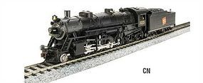 Broadway USRA Light 2-8-2 Mikado Canadian National #3717 HO Scale Model Train Steam Locomotive #2904