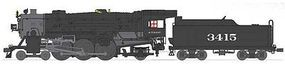Broadway USRA Heavy Pacific 4-6-2 Santa Fe #3416 HO Scale Model Train Steam Locomotive #2921