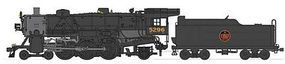 Broadway USRA Light Pacific 4-6-2 Canadian National #5296 HO Scale Model Train Steam Locomotive #2929