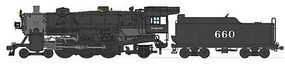 Broadway USRA Light Pacific 4-6-2 DCC Wabash #660 HO Scale Model Train Steam Locomotive #2939