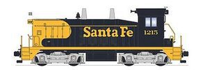 Broadway EMD NW2 DCC Santa Fe #1217 Warbonnet blue yellow HO Scale Model Train Diesel Locomotive #2945