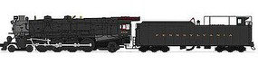 Broadway M1a 4-8-2 DCC Pennsylvania Railroad #6743 N Scale Model Train Steam Locomotive #3072