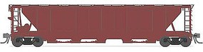 Broadway H32 5-Bay Covered Hopper 4-Pack Undecorated N Scale Model Train Freight Car #3175