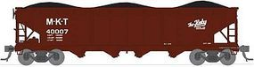 Broadway ARA/AAR 70-Ton 4-Bay Hopper Missouri-Kansas-Texas Set B N Scale Model Train Freight Car #3194