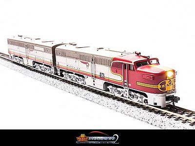 Broadway Limited Imports Alco PA1 Powered A-Unpowered B Set Santa Fe -- N Scale Model Train Diesel Locomotive -- #3201