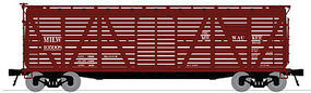 Broadway Stock Car with Cattle Sound Milwaukee Road N Scale Model Train Freight Car #3353