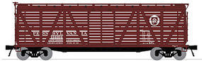 Broadway Stock Car with Cattle Sound Pennsylvania RR N Scale Model Train Freight Car #3354