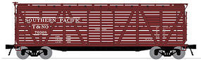 Broadway Stock Car with Cattle Sound Southern Pacific N Scale Model Train Freight Car #3355