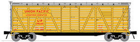 Broadway K7 Stock Car Union Pacific with sound N Scale Model Train Freight Car #3362