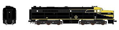 Broadway Limited Imports Alco PA with Sound Erie #861 -- N Scale Model Train Diesel Locomotive -- #3386