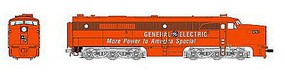 Broadway Alco PA with Sound GE #8375A N Scale Model Train Diesel Locomotive #3387
