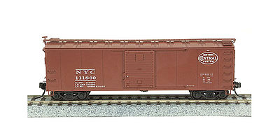 Broadway Limited Imports Steel Boxcar New York Central Roman (4) -- N Scale Model Train Freight Car -- #3401