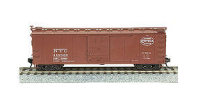 Broadway Steel Boxcar New York Central Roman lettering #122766 N Scale Model Train Freight Car #3412
