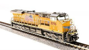 Broadway N GE ES44AC UP 8096 Build Amer