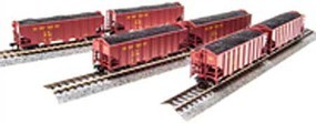 Broadway N H2a 3-Bay Hopper, UP/Red/Yellow Lettering B (6)