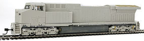 Broadway AC6000 with Sound Unpainted CSX HO Scale Model Train Diesel Locomotive #4017