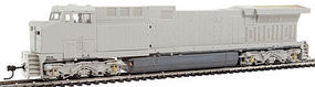 Broadway AC6000 with Sound Unpainted Union Pacific HO Scale Model Train Diesel Locomotive #4018