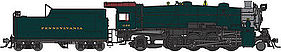 Broadway L1s 2-8-2 with sound Pennsylvania RR #3483 HO Scale Model Train Diesel Locomotive #4042