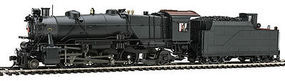Broadway L1s 2-8-2 with Sound Undecorated HO Scale Model Train Steam Locomotive #4047