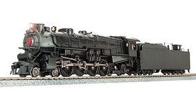 Broadway M1b 4-8-2 DCC Unlettered HO Scale Model Train Steam Locomotive #4082