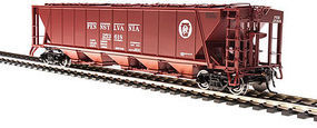 Broadway H32 Hopper Pennsylvania RR red #C (2) HO Scale Model Train Freight Car #4085