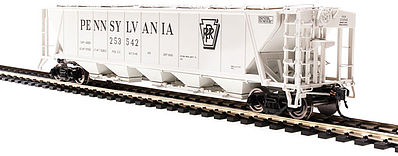 Broadway Limited Imports H32 Hopper Pennsylvania RR gray #C (2) -- HO Scale Model Train Freight Car -- #4088